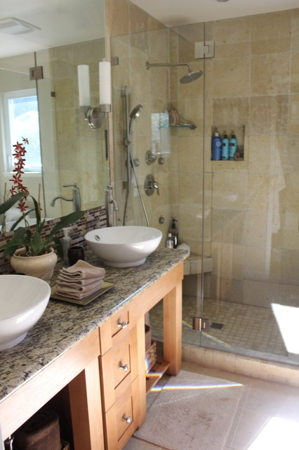 Small Master Bath Traditional Bathroom