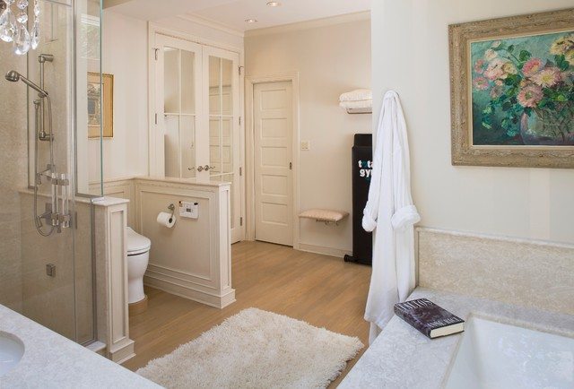 small master bath in chevy chase traditional bathroom dc metro