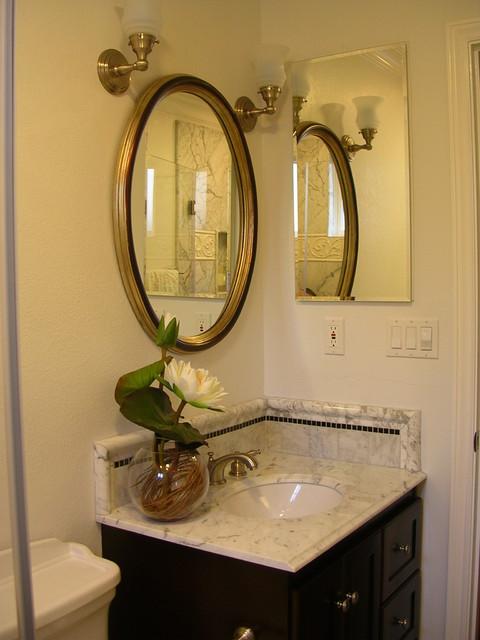 Small master bath in Santa Clara, CA - Traditional - Bathroom - San Francisco - by Marina V ...