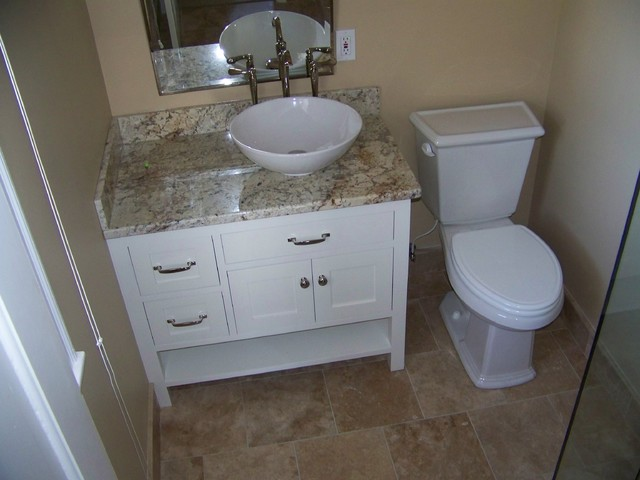 Small Master Bathroom Remodel Enchanting Small Master Bathroom Remodel  Contemporary  Bathroom . Review