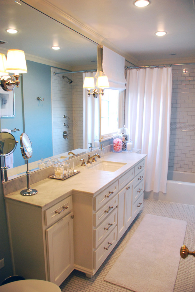 Small Space Bathroom Remodel - Traditional - Bathroom ...