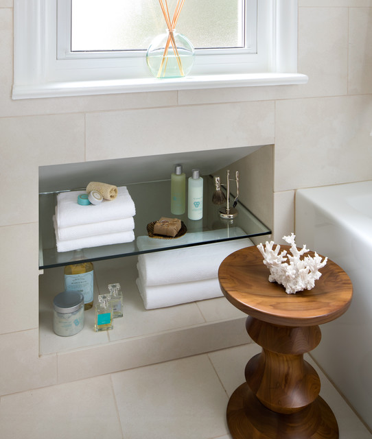 Small Space Bathroom Contemporary Bathroom Other By Toronto Interior Design Group