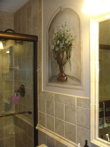 Small space big style for Small mediterranean bathroom
