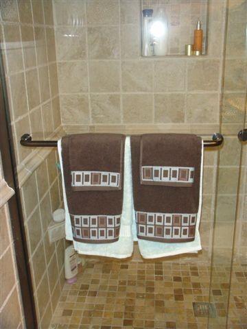 Small Space, Big Style mediterranean-bathroom