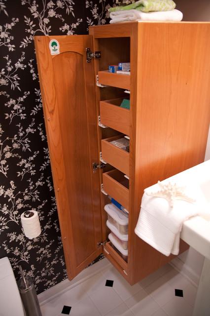 Small Space Master Bathroom traditional-bathroom