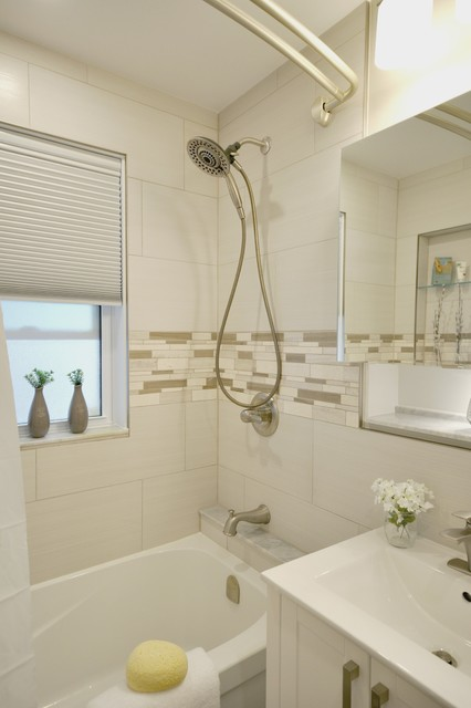 Small spaces bathroom redesign beach style bathroom Redesigning small bathrooms