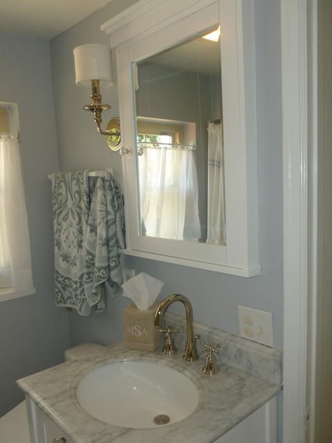 Small Spaces Bathroom Renovation Traditional Bathroom Cincinnati By Bath Kitchen Idea