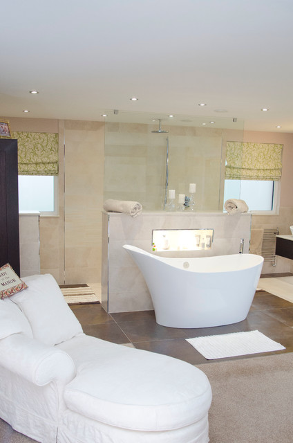 Smith contemporary bathroom south east by oxford for Oxford kitchen and bath
