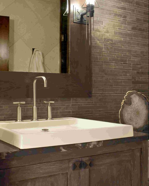 Snow Cloud - Bachelor Gulch Residence eclectic-bathroom