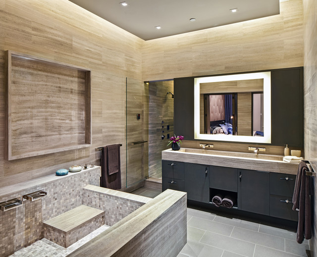Soho loft ii contemporary bathroom new york by dhd for New washroom designs
