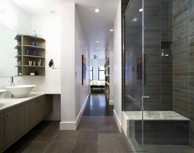 Soho Loft Contemporary Bathroom New York By Matiz Architecture Design