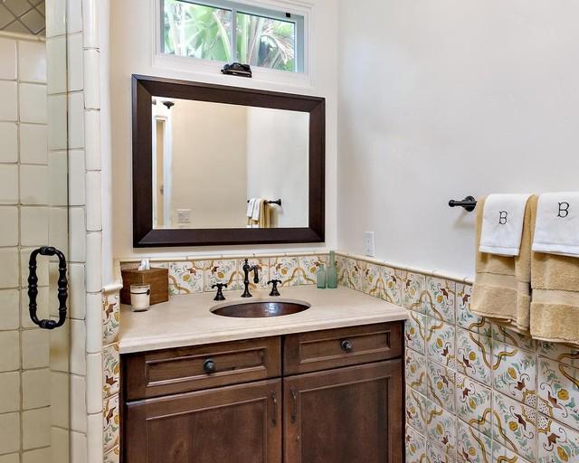 Solana Beach Residence traditional-bathroom