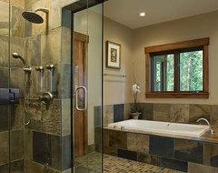 Solitude Residence rustic-bathroom