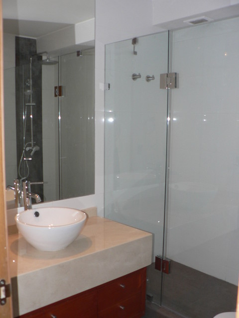 Some of the work we do... contemporary-bathroom