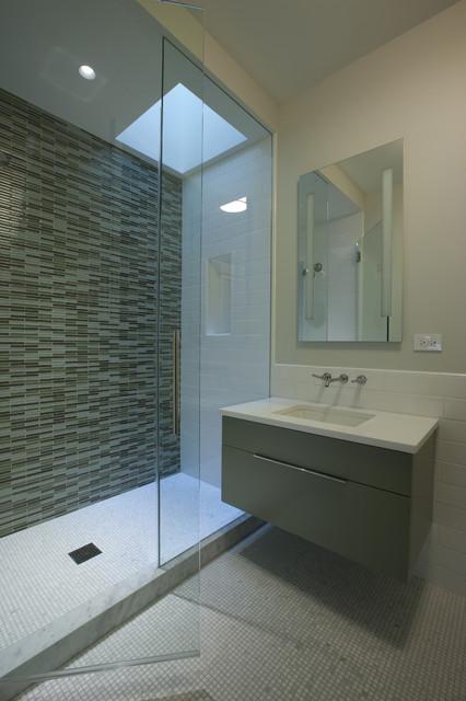 Son's Bathroom contemporary-bathroom