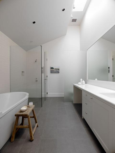 Sonoma farm house modern bathroom san francisco by for Modern day bathrooms