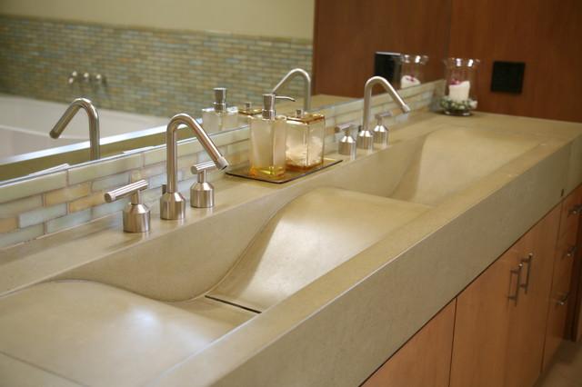 Sonoma Living contemporary-bathroom