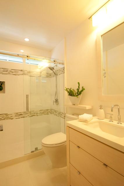 Soothing Bamboo Baths contemporary-bathroom