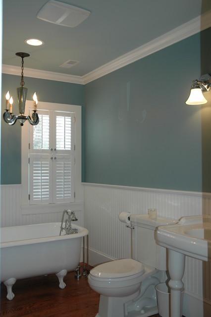 Soothing bath traditional-bathroom