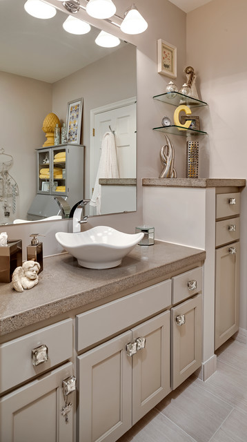 Sophisticated Eclectic Master Bath - Eclectic - Bathroom - minneapolis ...