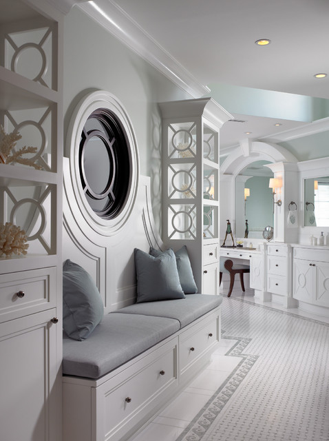 Sophisticated Key West Style Transitional Bathroom Other Metro By Pinto Designs And
