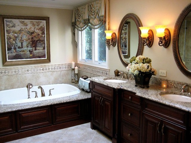 Sophisticated Master Bath traditional bathroom