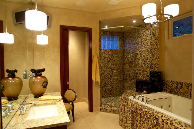 Sophisticated Styling contemporary-bathroom