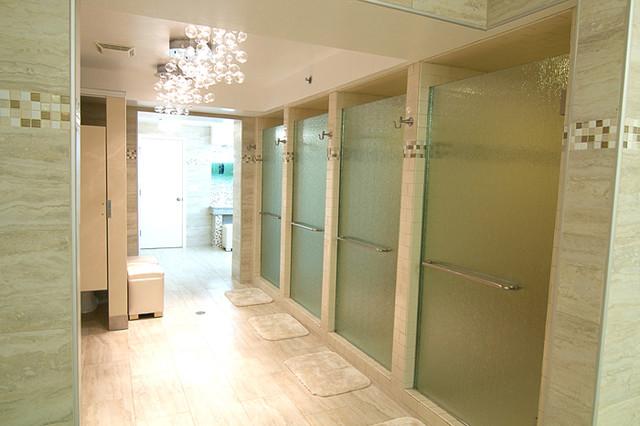 Sorority Restroom Reno Modern Bathroom
