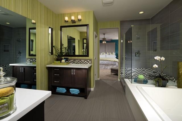Sorrento Heights contemporary-bathroom
