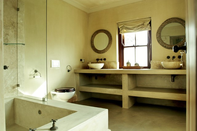 South African Farmhouse Farmhouse Bathroom Amsterdam