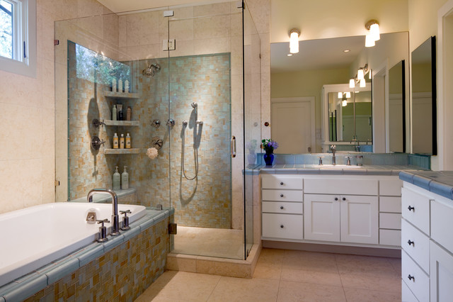 Shower Corner Shelves | Houzz