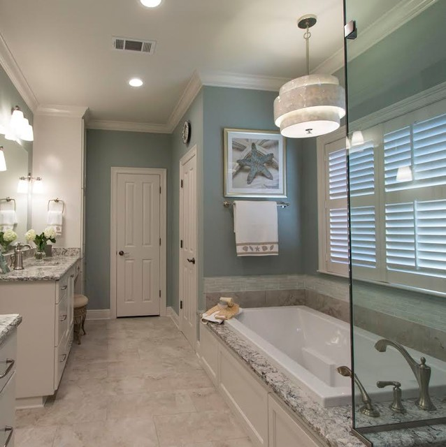 New Look Kitchen And Bath: South Baton Rouge Master Bath