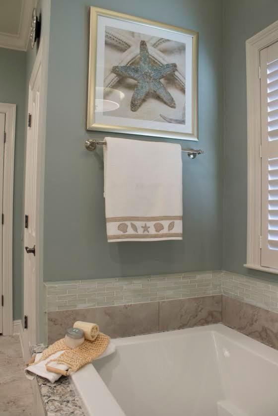 South Baton Rouge Master Bath - Beach Style - Bathroom ...