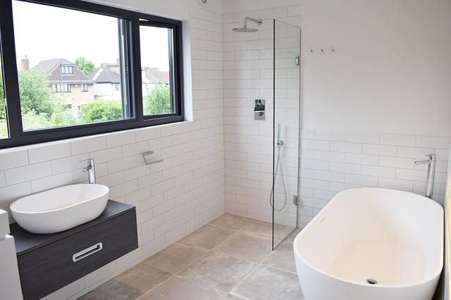 Bathroom Design East London south east london loft conversion and renovation - modern