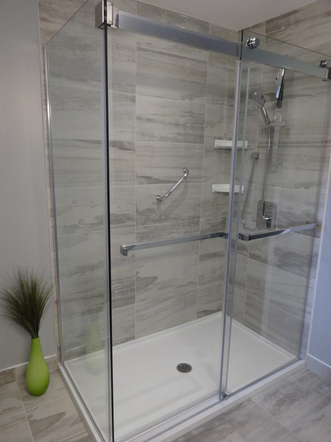 South Etobicoke Bathroom - Contemporary - Bathroom - toronto - by ...