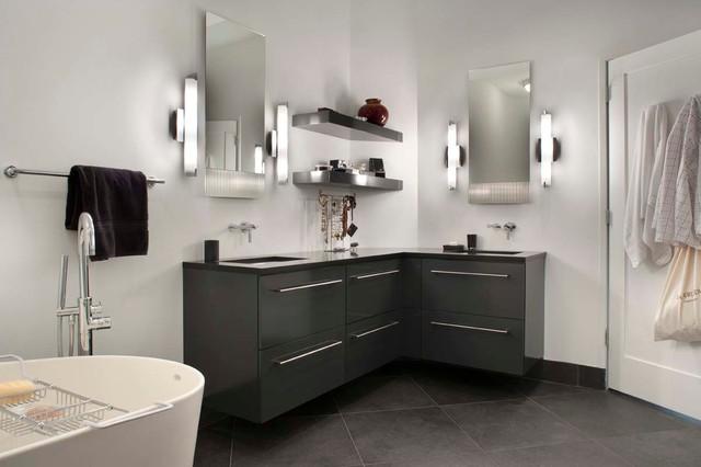 South Lexington Avenue Contemporary Bathroom Other By Keystone Kitchen Bath