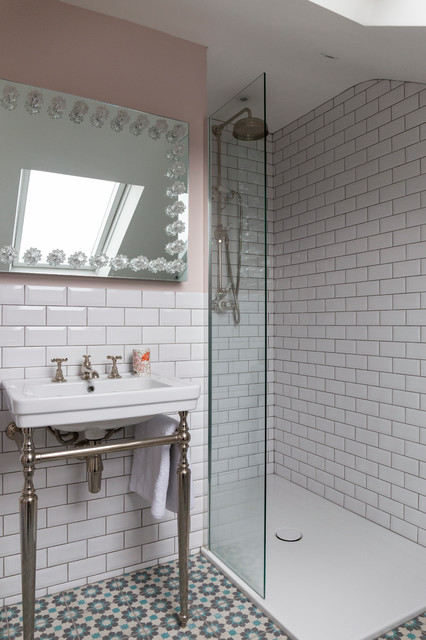 South London Victorian Home Contemporary Bathroom London By Chris Snook