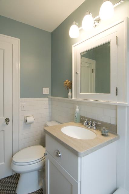 Contemporary bathroom remodel traditional bathroom for Bathroom remodel minneapolis