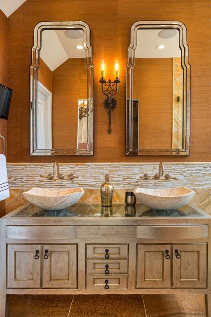 South Padre Island contemporary-bathroom