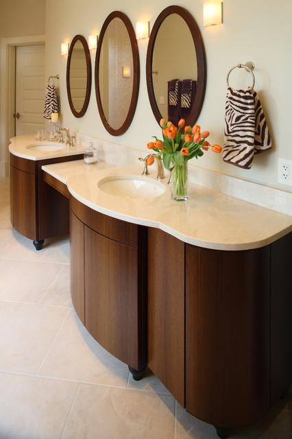 South Portland Bathroom Cabinets Transitional Bathroom Portland Maine By Penelope Daborn