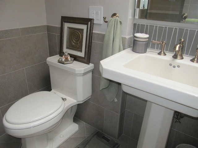 South San Francisco Bathroom Remodel Transitional