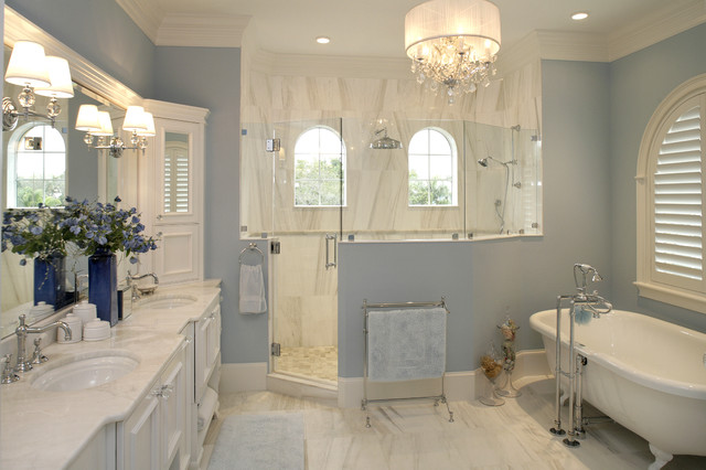 South Tampa Custom Home traditional bathroom