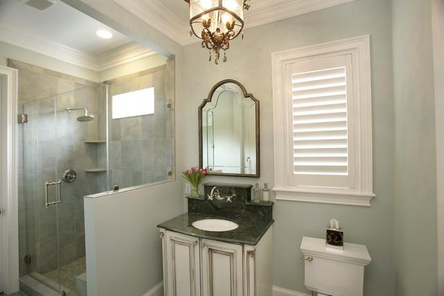 South Tampa Custom Home mediterranean-bathroom