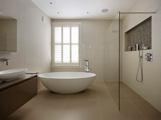 South west london contemporary bathroom london by for Bathroom designs london