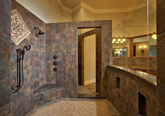 Southampton Builders Luxury Custom Home In St Charles Illinois Traditional Bathroom