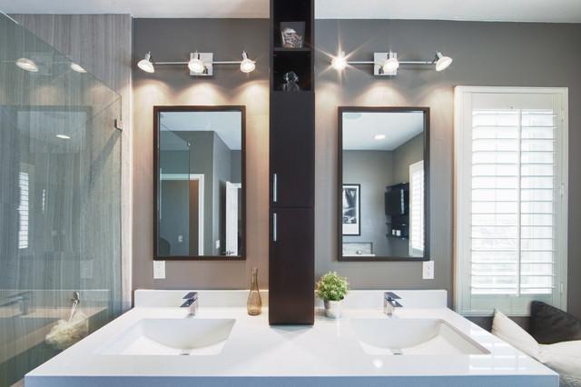 Southern California Bathroom Remodel modern-bathroom