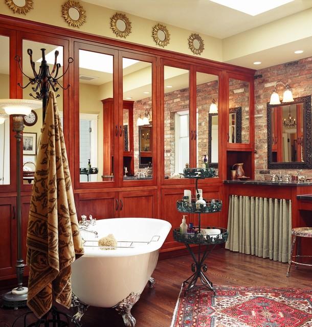 southern comfort - the bathroom eclectic-bathroom