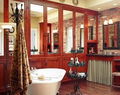 southern comfort - the bathroom eclectic-bathroom