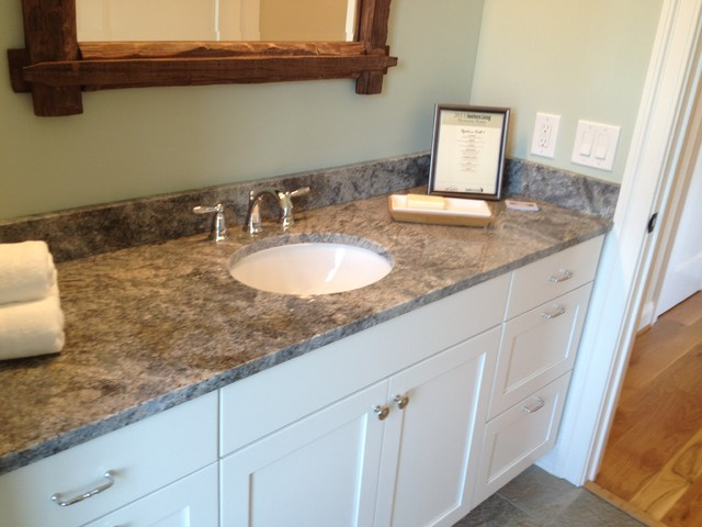 Southern Living Home In Charlottesville Traditional Bathroom Richmond By European Stone
