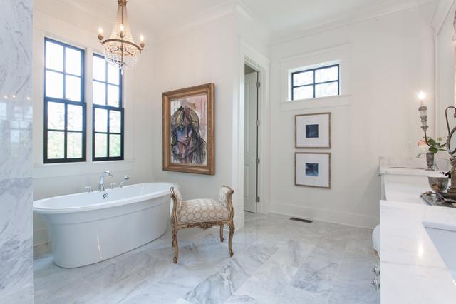 Southern Living Idea House Traditional Bathroom